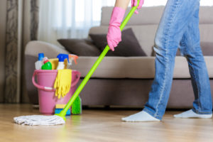 Hire dependable house cleaners right here