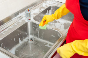 What products can I use to clean food-contact surfaces